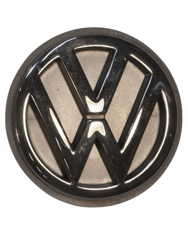 Rear VW Emblem in Black