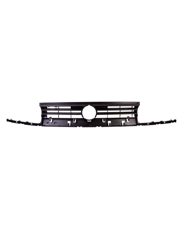 Radiator Grille with Hole for Badge in Black