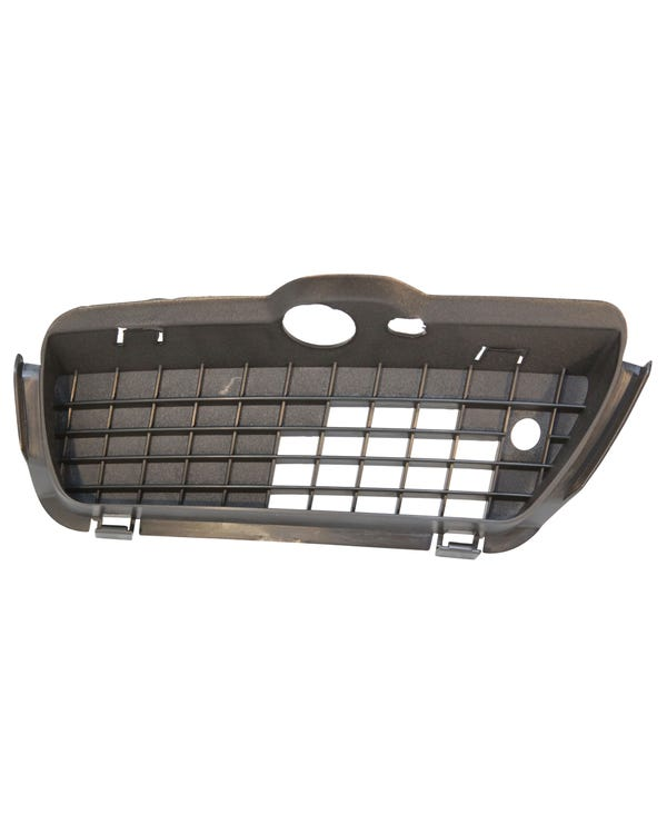Lower Front Grille Trim Satin Black Right