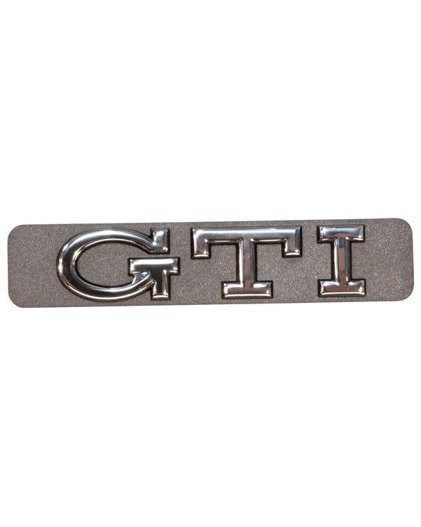 Insignia lateral - GTI