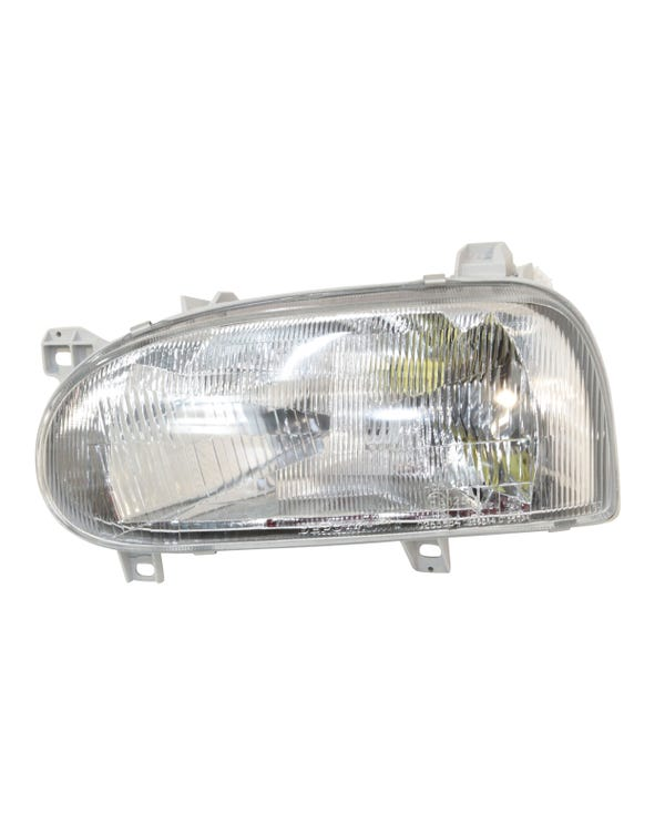 Headlight for the Left Hand Side on a Right Hand Drive