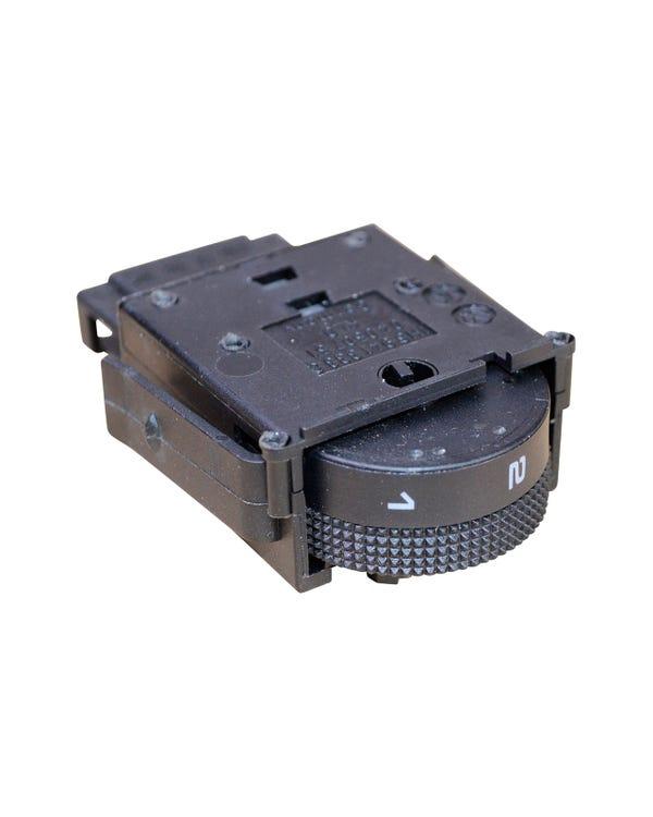 Interruptor de control para rango de faros, modelos con el volante a la derecha