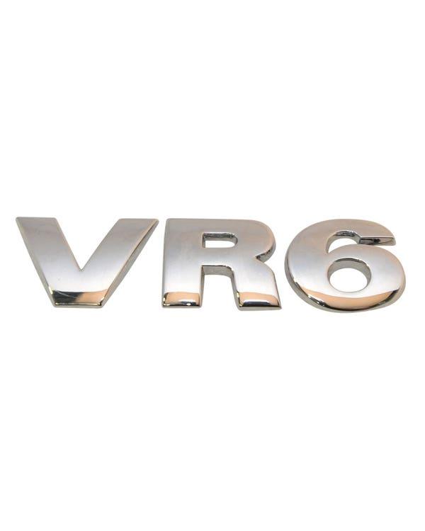 Emblema trasero de VR6 en cromado