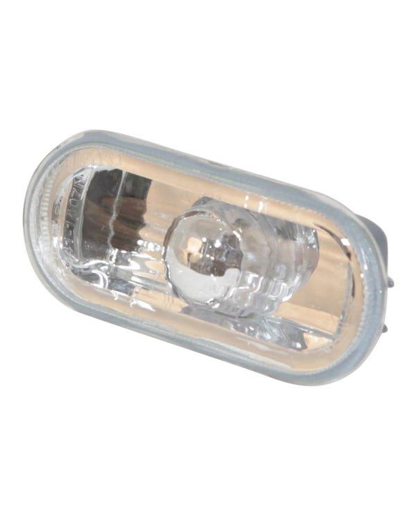 Repetidor lateral con lente transparente
