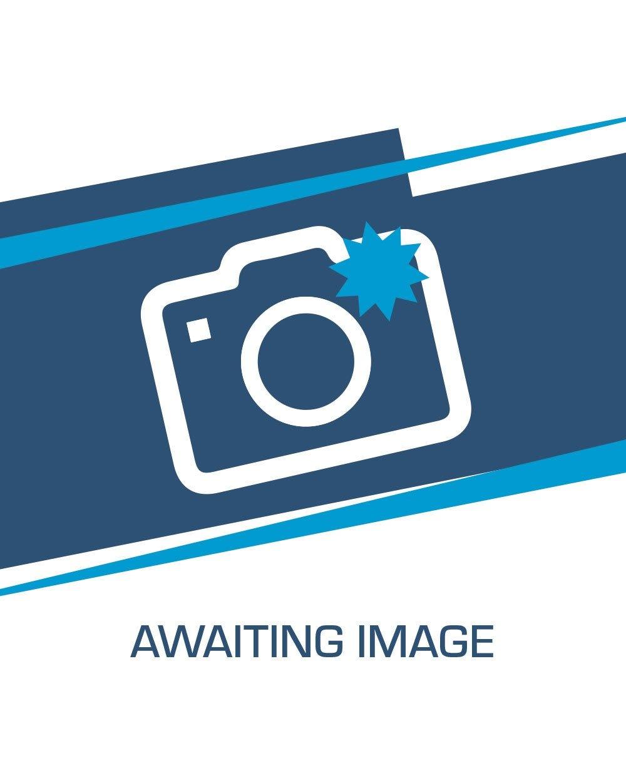 Insignia de parrilla delantera de V6 en cromo y rojo