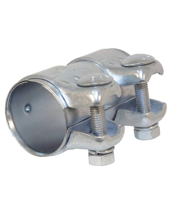 Dual Clip Exhaust Connecting Pipe 45mm
