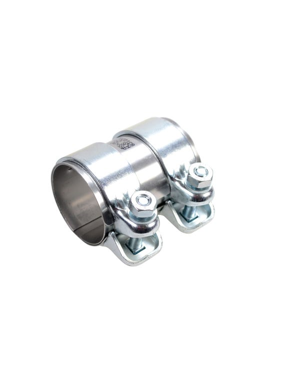 Dual Clip Connecting Pipe for Exhaust 55x88