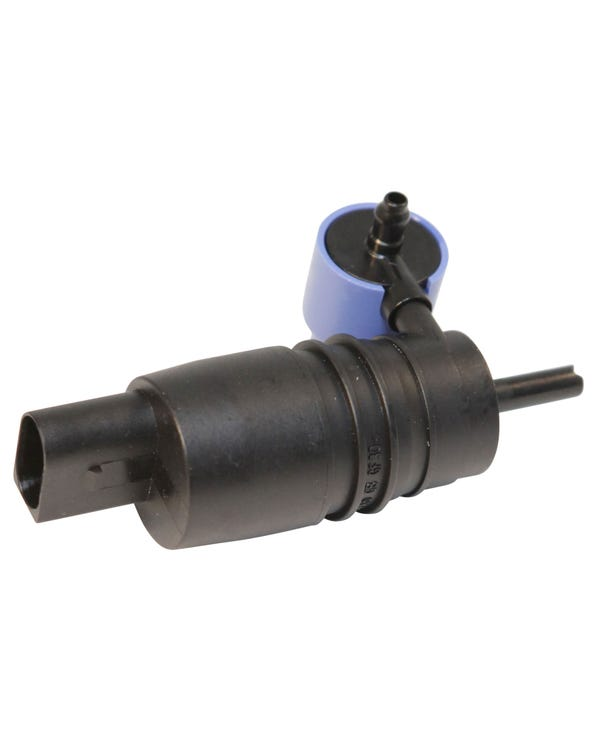 Windscreen Washer Pump with Twin Port Outlet