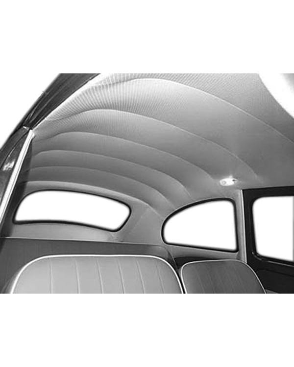 Headliner in Single color Vinyl with Perforated or Crush Finish