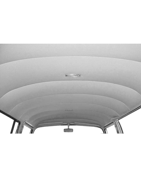 Minibus Headliner in Single Colour Vinyl with Perforated or Crush Finish