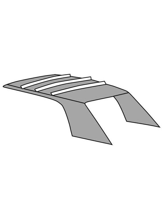 Tapizado para el techo en vinilo