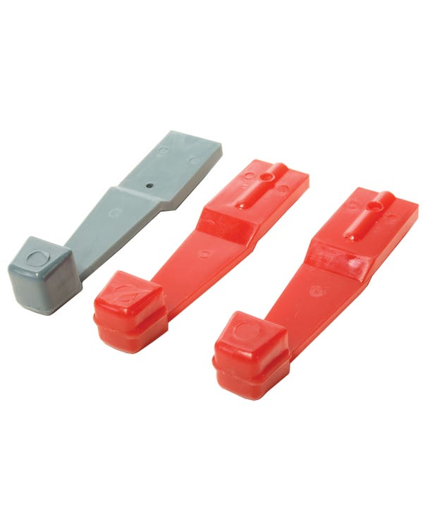 Heater Lever set Red & Blue