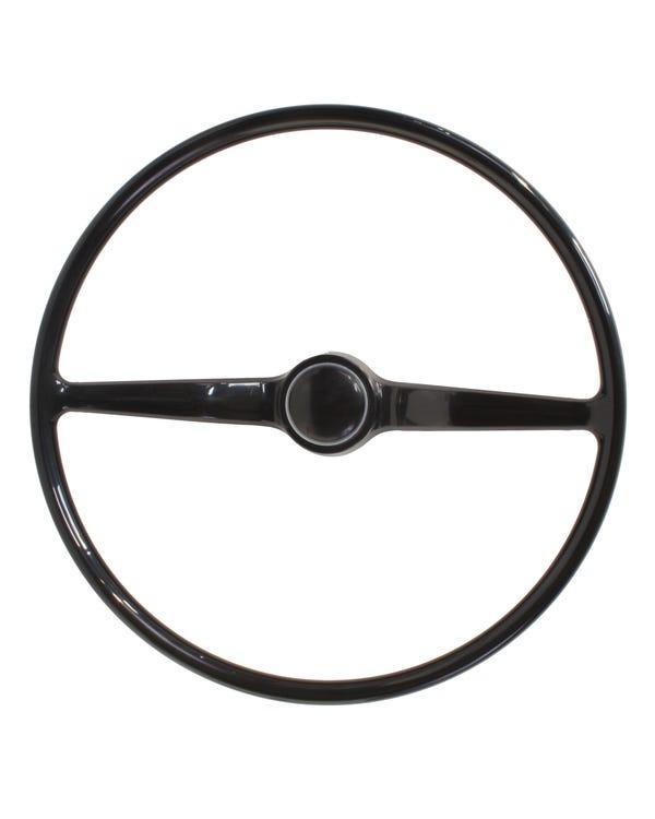 Steering Wheel Including Horn Press