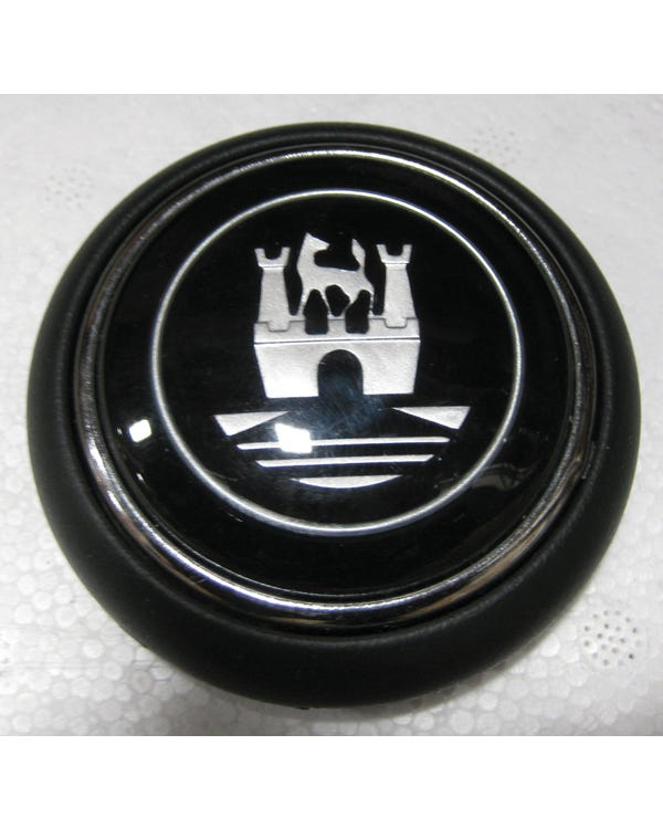Horn Push with Black and Silver Wolfsburg Crest