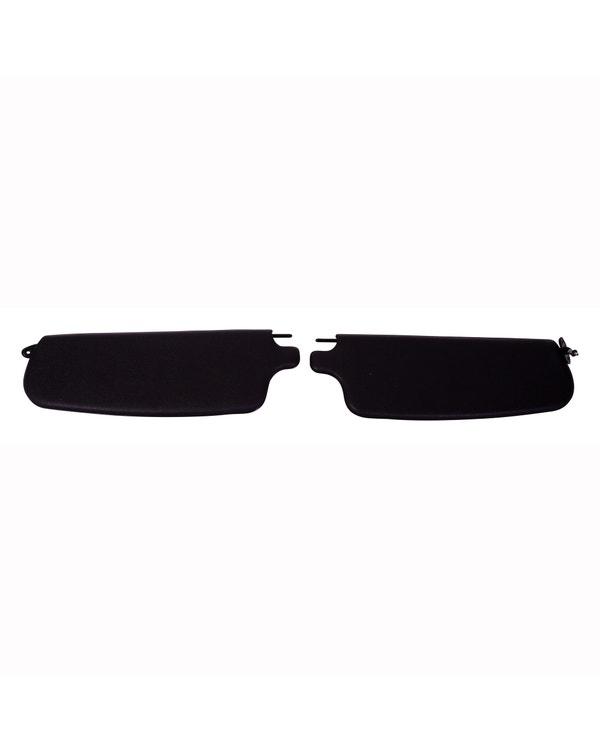 Sun visors in Black