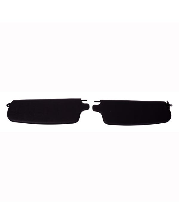 Sun visors in Black