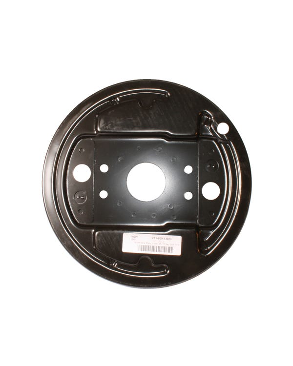 Brake Drum Backing Plate for the Left Front