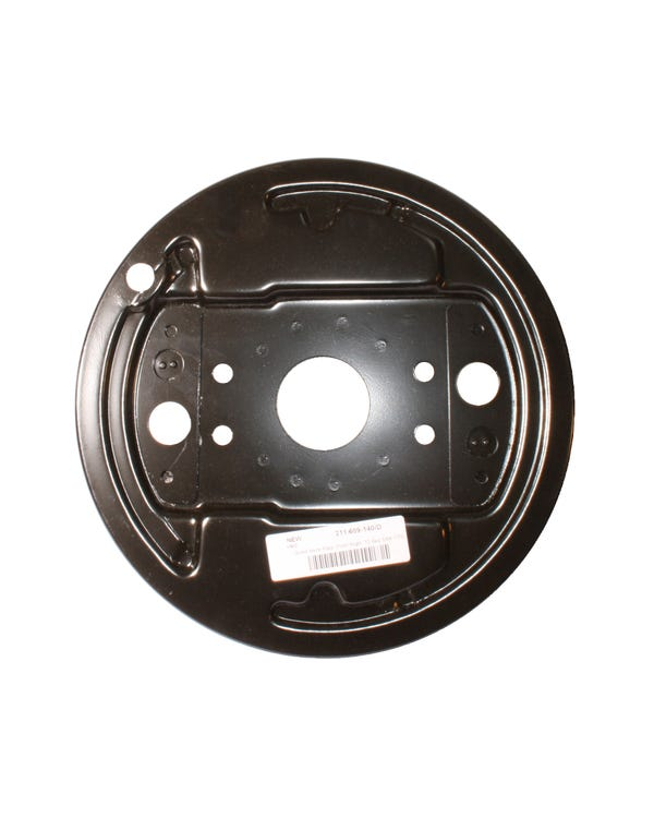 Brake Drum Backing Plate for the Right Front