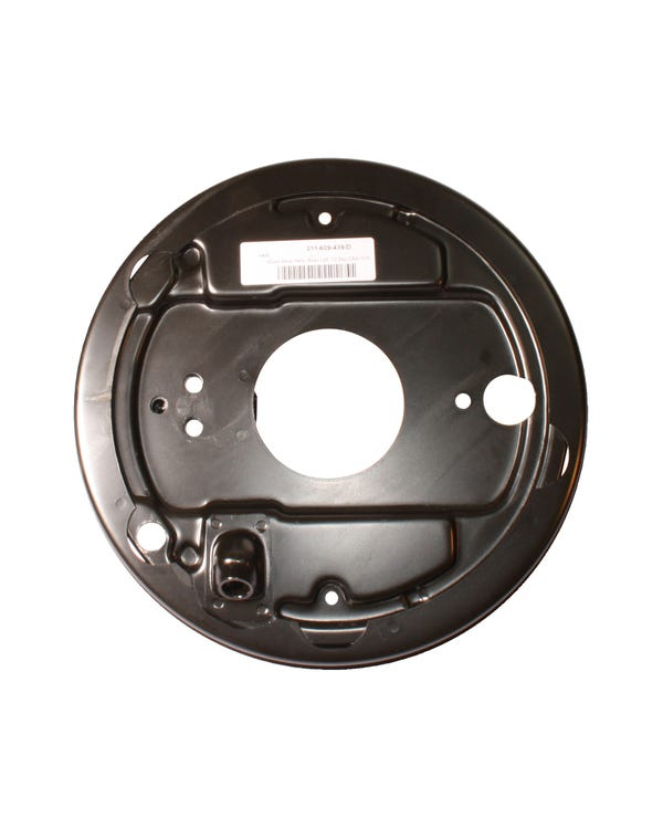 Brake Drum Backing Plate for the Left Rear