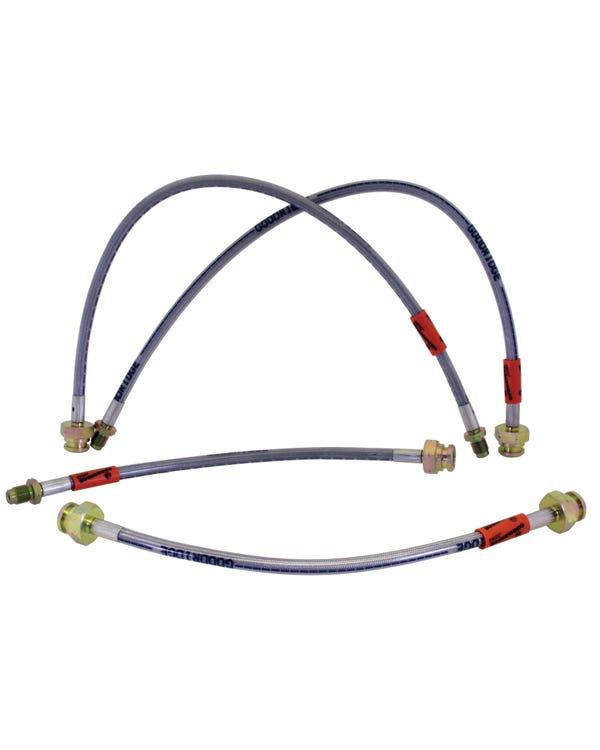 Goodridge Braided Brake Hose Kit for Drum Brakes