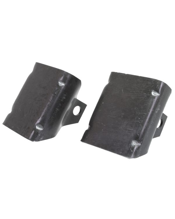Rear Shock Absorber Mount Brackets Pair