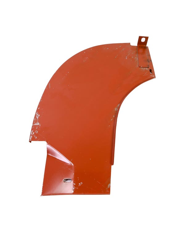 Right Splash Pan for Ribbed Bumper