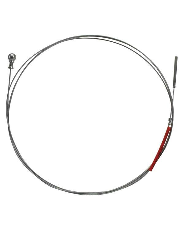 Cable del acelerador de 2870mm para modelos automáticos con el volante a la izquierda de 1700-2000cc