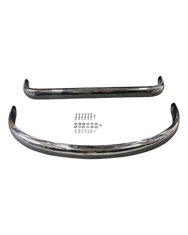 Bumper Kit Euro Spec Stainless Steel