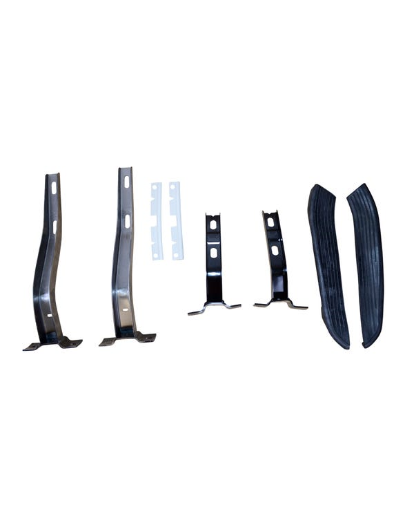 Front & Rear Bumper Kit E-Coated Black