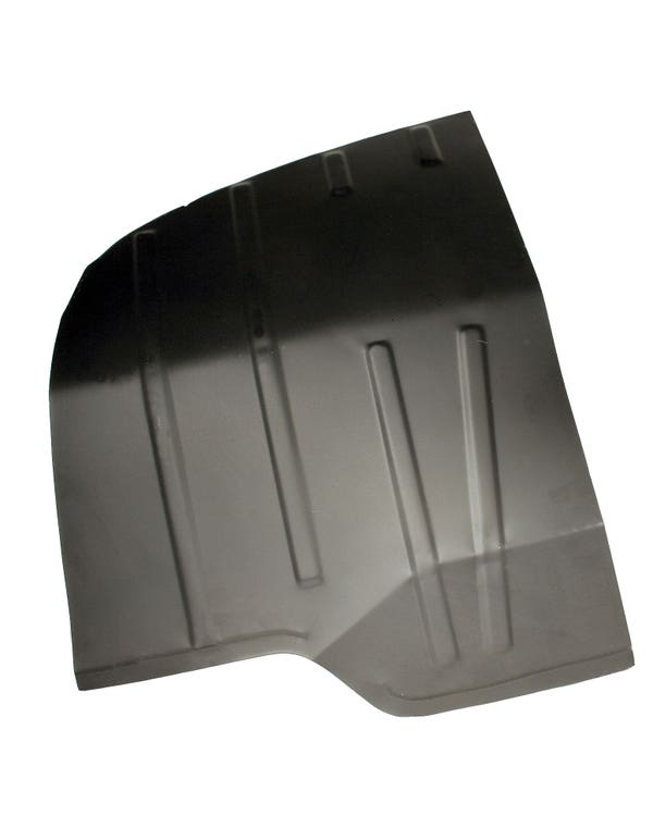 Cab Floor Repair Plate, Right Side for Left Hand Drive