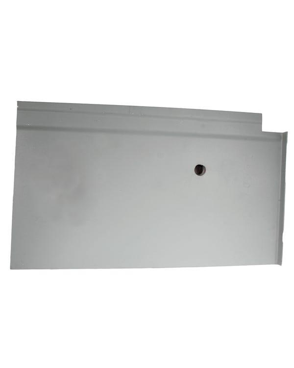 Chapa de Reparación panel anclaje cinturon de seguridad derecho