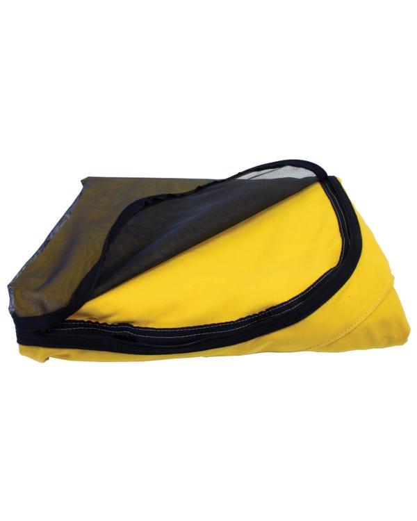 Westfalia Aufstelldachstoff,Scharnier hinten, gelb