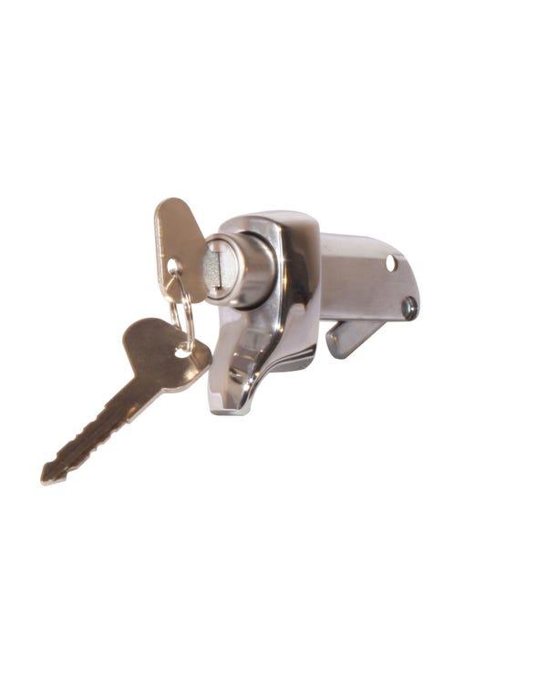 Engine lid lock, Chrome