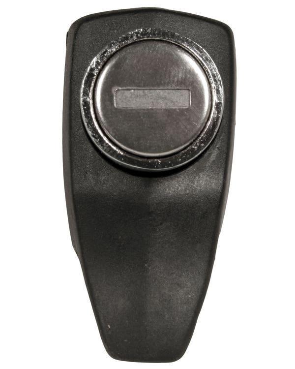 Motorkdeckelschloss, schwarz, mit Schlüssel