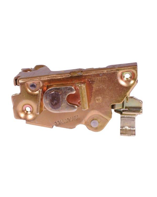 Left Door Locking Mechanism