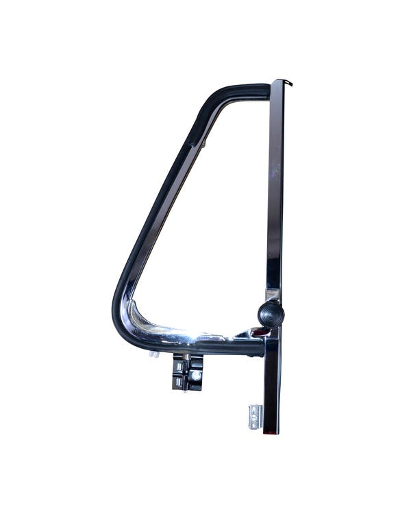 Stainless Steel Right Opening Quarter Light