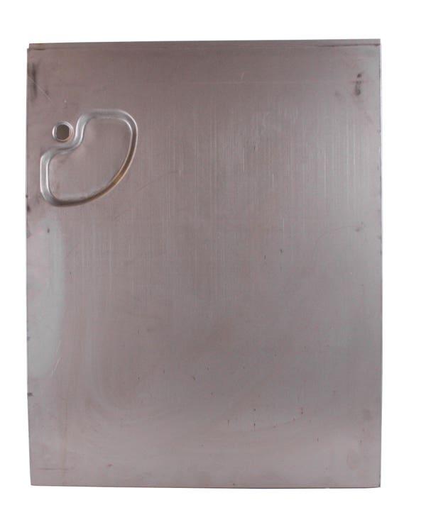 Door Skin Cargo Door Outer with Handle Recess to Swage Line Right