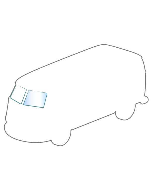 Windschutzscheibe, transparent