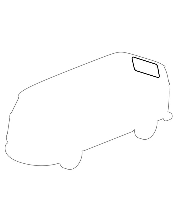 Rear Window Seal Barndoor and Pick-Up