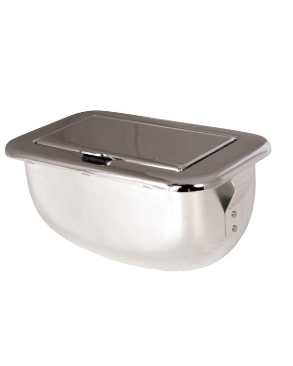 Dashboard Mounted Chrome Ashtray