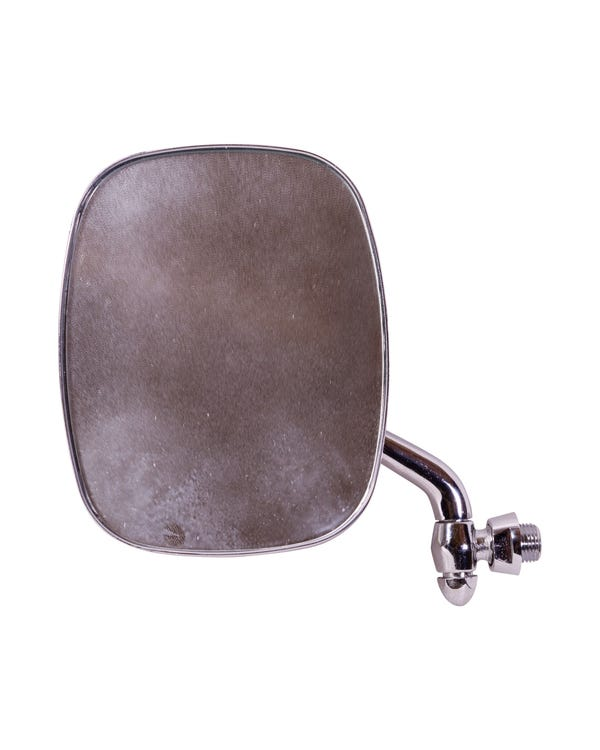 Wing Mirror with Chrome Plated Arm and Head Left
