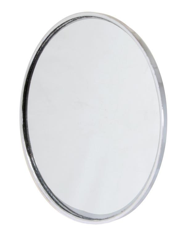 Wing Mirror Head Chromed Plastic