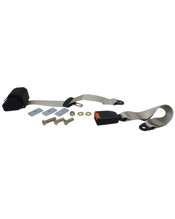 Seat Belt Rear Inertia Modern Buckle All Webbing Ivor