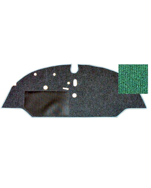 Cab Floor Carpet for Left Hand Drive Green