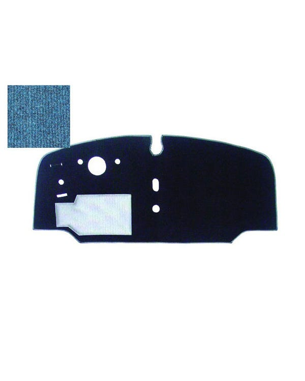Cab Floor Carpet for Left Hand Drive Blue