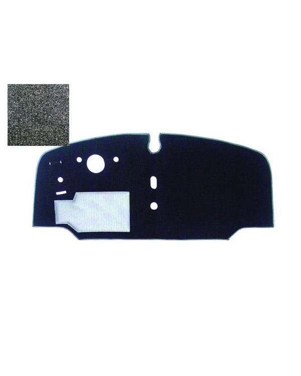 Cab Floor Carpet for Left Hand Drive Charcoal