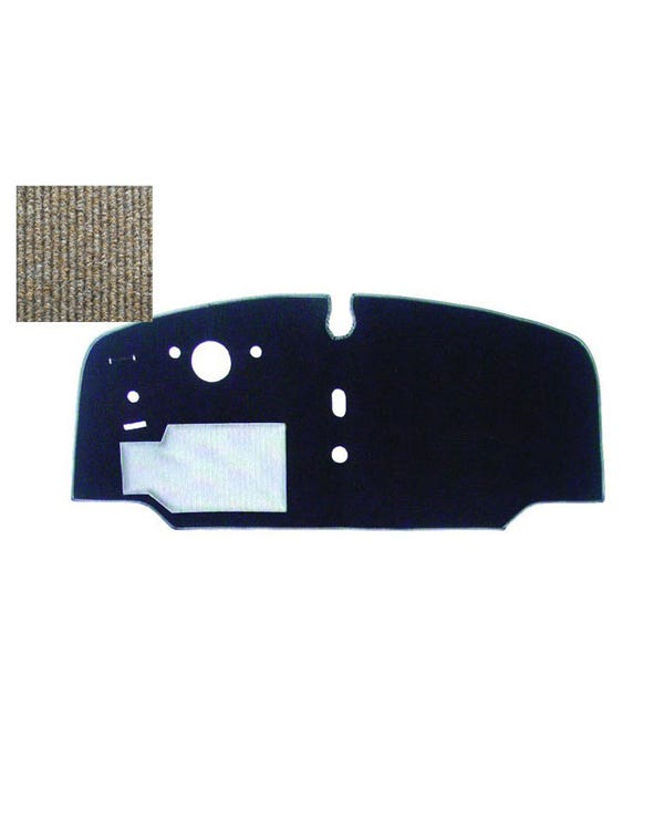 Cab Floor Carpet for Left Hand Drive Oatmeal