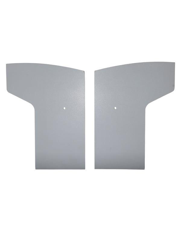 Front Door Panels in Grey original card