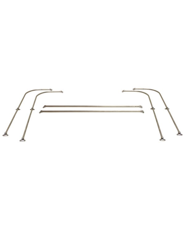 Jail Bar Side and Rear Kit for 15 and 23 Window Bus