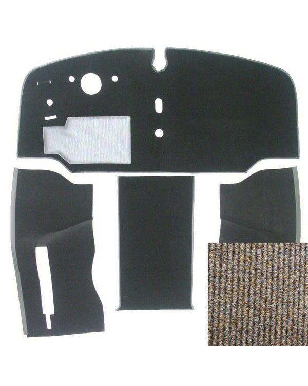 Carpet Set for Left Hand Drive Oatmeal